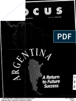 Argentina a Return to Future Success Zyprexa