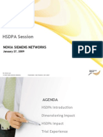 HSDPA Session