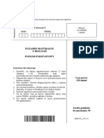 Matura 2014 - Biologia - Poziom Podstawowy - Arkusz Maturalny (www.studiowac.pl)