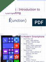 Functions ESC 101