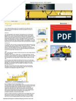 Aligning Overhead Crane Rails - HOIST Magazine