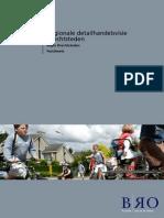Regio Drechtsteden Detailhandelsvisie Factsheets