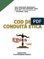 m.e.- Codul Etic - 2014-2015 Bun
