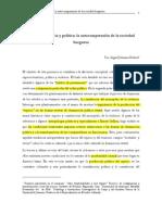 BOLÍVAR INGRID JOHANNA Espacio Violencia y Política La Autocomprensión de La Sociedad Burguesa