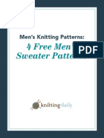 4 Free Sweater Patterns for Men