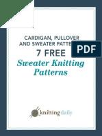 7 Free Sweater Patterns