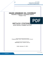 METHOD STATEMENT conduits for power outlets.doc