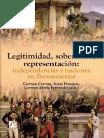 Legitimidad, Soberanías, Representación... - Carmen Corona, Carmen María Fernández, Ivana Frasquet (Eds.)