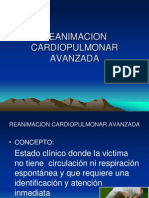 Reanimación Cardivascular