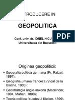 Sava - Introducere in Geopolitica II