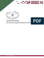 Maison de Marie - Um Caso de Empreendedorismo Familiar