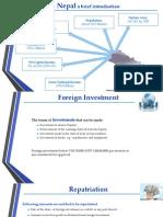 FDI in Nepal Final