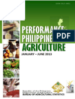 Performance of Phil. Agriculture 2013