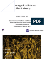 Martin J. Blaser Antibiotics and Obesity