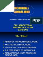 Slide the Medical Audit