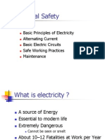 Basic Principles of Electrical Safety