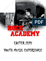 ROCK ACADEMY - Easter 2015