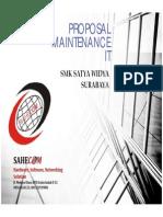 Proposal Maintenance IT untuk sekolah SMK