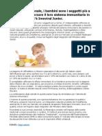 Imoviral Junior per rinforzare il sistema immunitario dei bambini in modo naturale