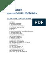 Aleksandr Romanovici Beleaev-Ultimul Om Din Atlantida 1.0