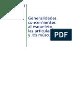 Cap 001 Generalidades Del Sistema Esquelético