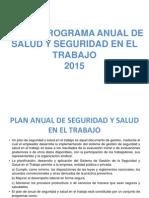 PLAN Y PROGRAMA ANUAL DE SALUD Y SEGURIDAD 2015.pptx
