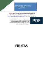 Prueba Lexico-semantica Alimentos P-1