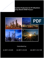 HF Alkylation and NExOCTANE Tech for Gasoline Production