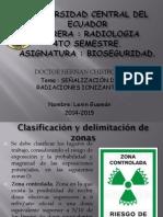 Señalización de Radiaciones Ionizantes