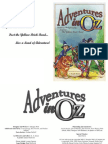 FDW1000 Adventures in Oz Fantasy Roleplaying Beyond the Yellow Brick Road 1.2