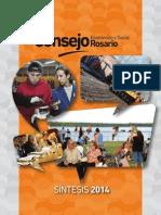 Consejo Económico y Social . Síntesis 2014