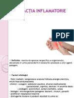 Reactia Inflamatorie