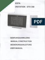 Cresta DTX 350 - Manual En