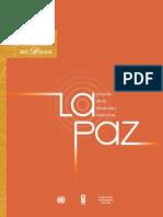 objetivos de desarrollo del milenio  la Paz- Bolivia