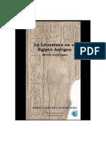 40616135 La Literatura en El Egipto Antiguo Angel Sanchez