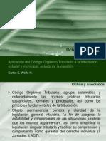Aplicación COT Municipios (CWH)