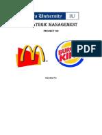 McDonalds & BK Case Study 2