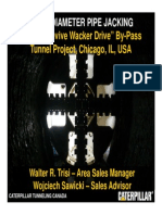 9-2 Large Diameter Pipe Jacking for the MWRD by-Pass Tunnel Project in Chicago USA