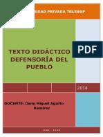 Texto Didáctico de Defensoría Del Pueblo
