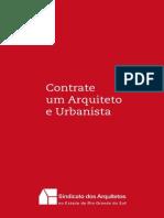 CARTILHA-Contrate um arquiteto e urbanista