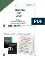 Scrum Software Development Best Practices Applied