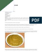 Pate de Linte Verde a-la-hindi