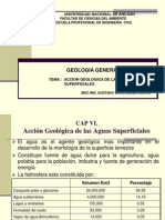 Accion Geol. Aguas Superficiales