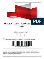 Agilent Ads Training Course PDF