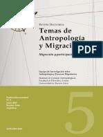 Antropologia y Migracion
