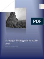 Strategic Management at Air Asia