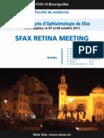 22ème Congrès d'Ophtalmologie de SFAX (Le 7 Et 8 Octobre 2011)