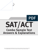 ACT SAT Combo Explanations