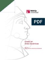 Didactica Artes Escenicas