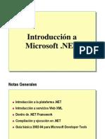 1.- Introduccion a Microsoft .NET